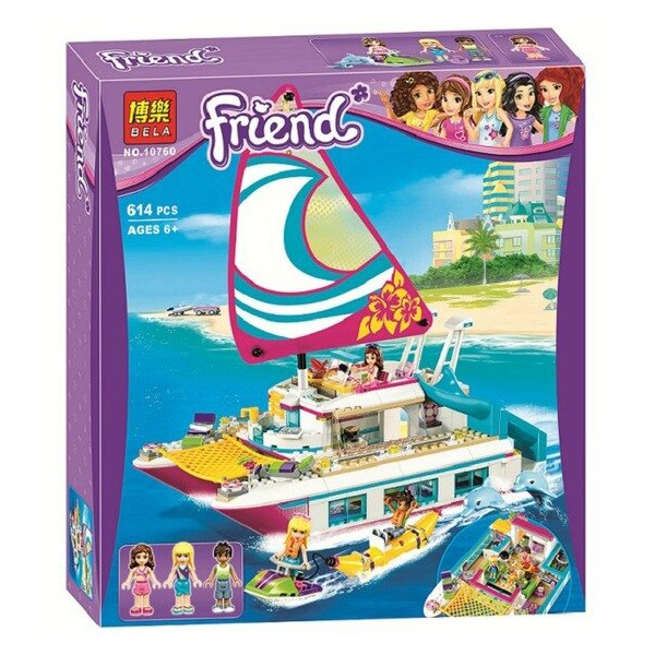 لگو فرندز قایق تفریحی
