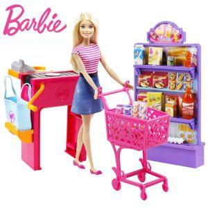 عروسک باربی و سوپرمارکت Mattel