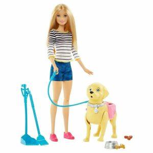 عروسک باربی و پاپی Mattel