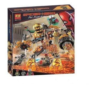 لگو ربات آتشین میستریو و اسپایدرمن سیاه