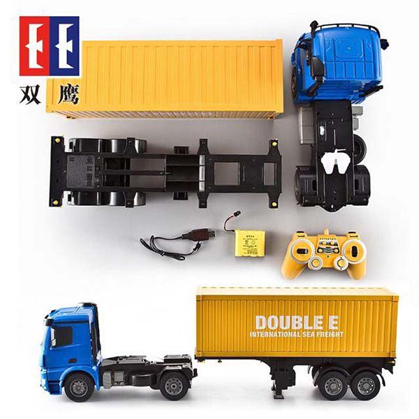 ماشین کنترلی تریلی Double E