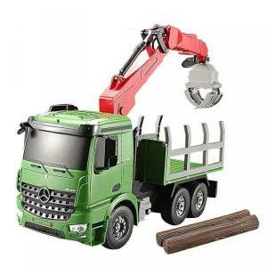ماشین کنترلی کامیون حمل چوب