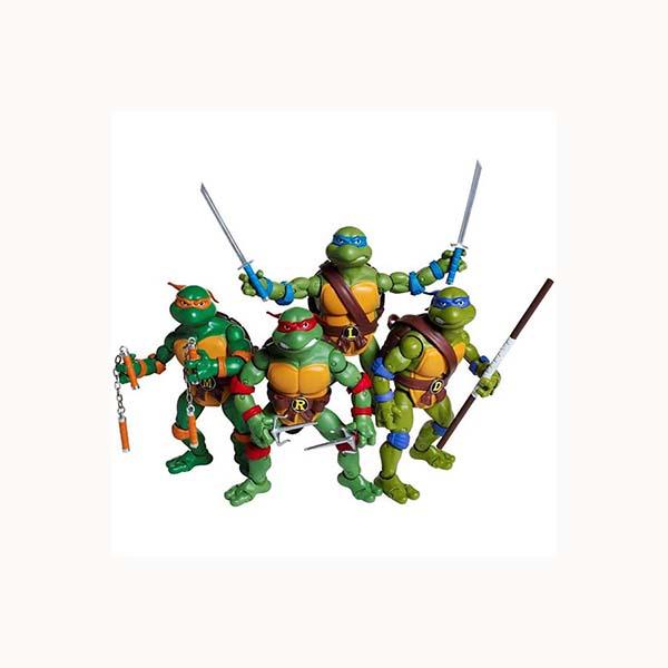 مجموعه فیگور 4 عددی لاکپشت های نینجا