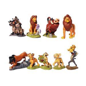 مجموعه فیگور 9 عددی شیر شاه (Lion King)