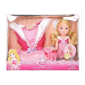 عروسک زیبای خفته همراه با لباس