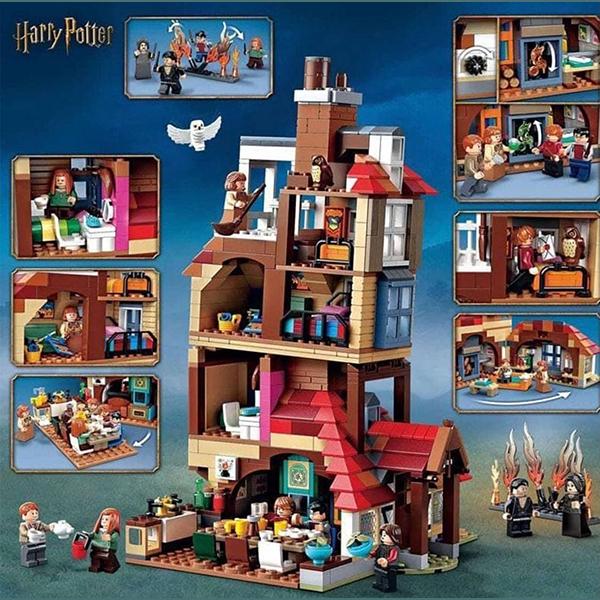 لگو هری پاتر حمله به پناهگاه هری