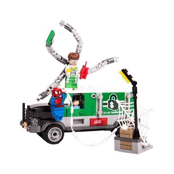لگو اسپایدرمن و ماشین دکتر اختاپوس